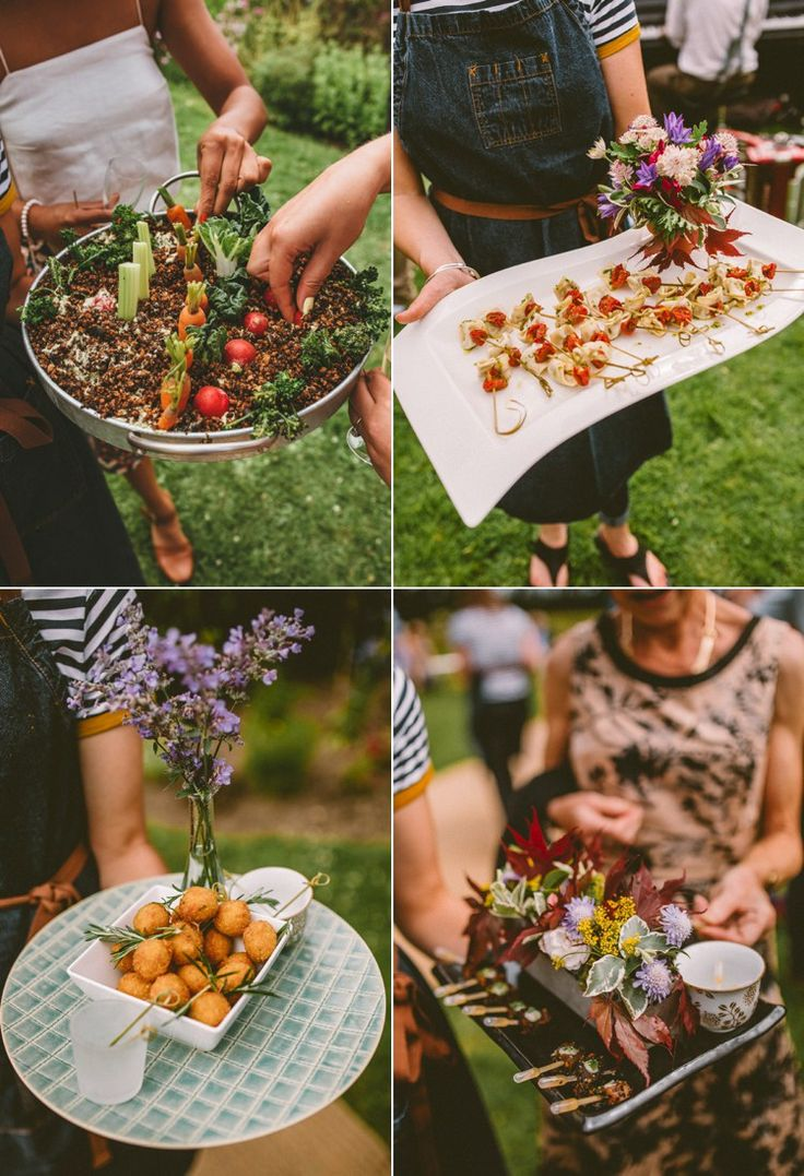 167 best images about wedding food on pinterest wedding for Wedding canape alternatives