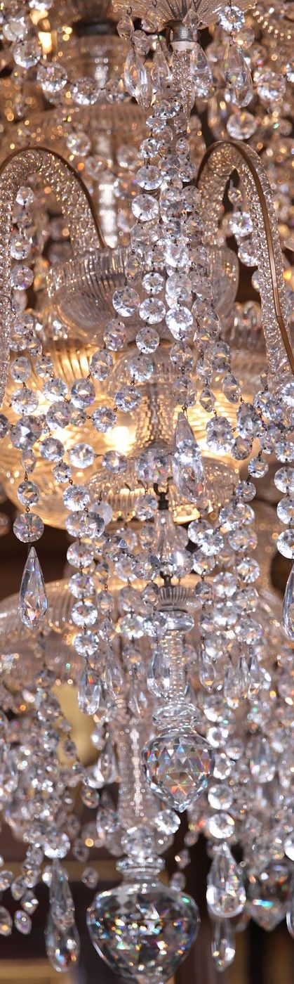 The Greatest Chandelier Of All Time THE EMPRESS OF GEMS L Swarovski Crystal  L Ria