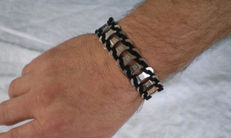 Bicycle Jewelry Bicycle Chain Link Amp Leather Bracelet 25