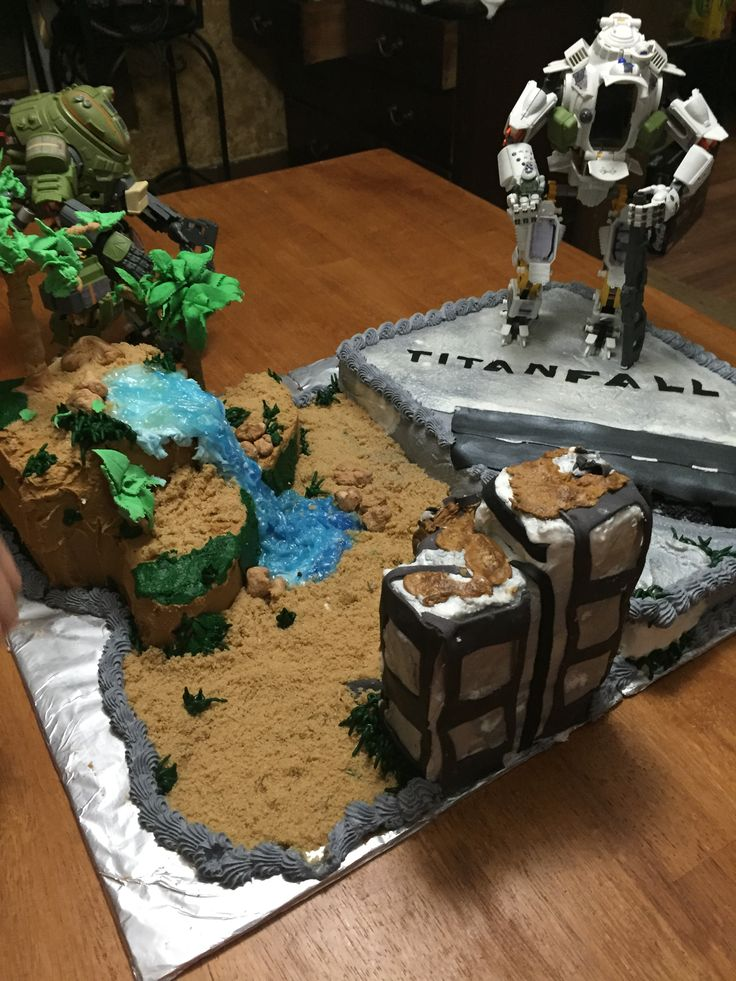 Titanfall Birthday Cake Party Ideas Pinterest