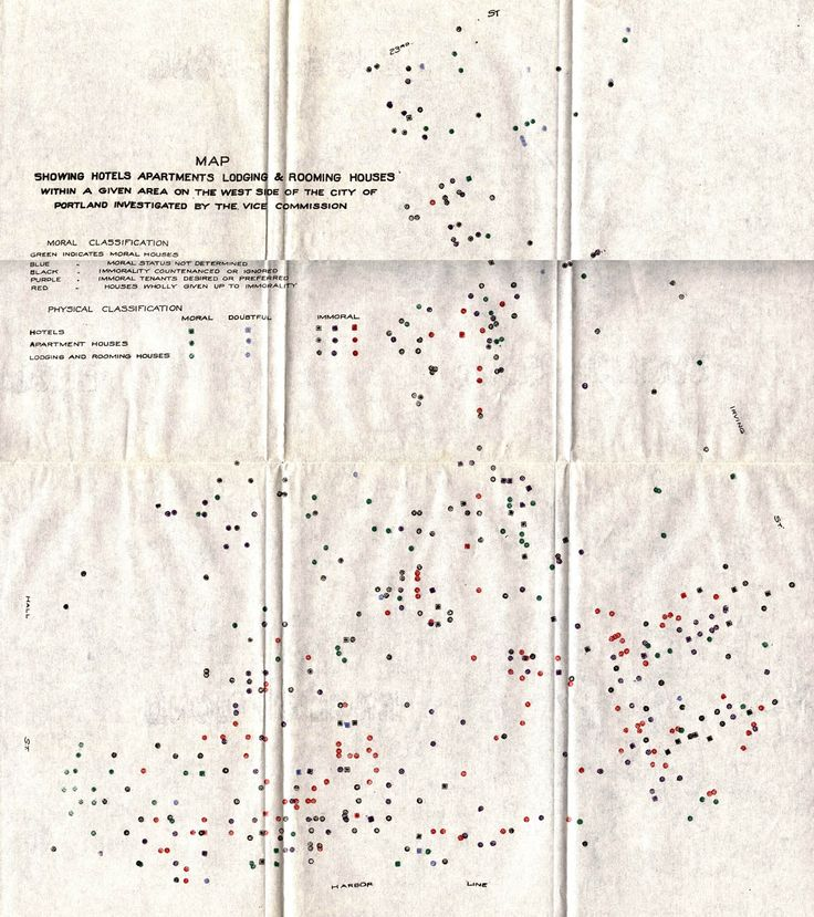 Vice Commission Map 1913