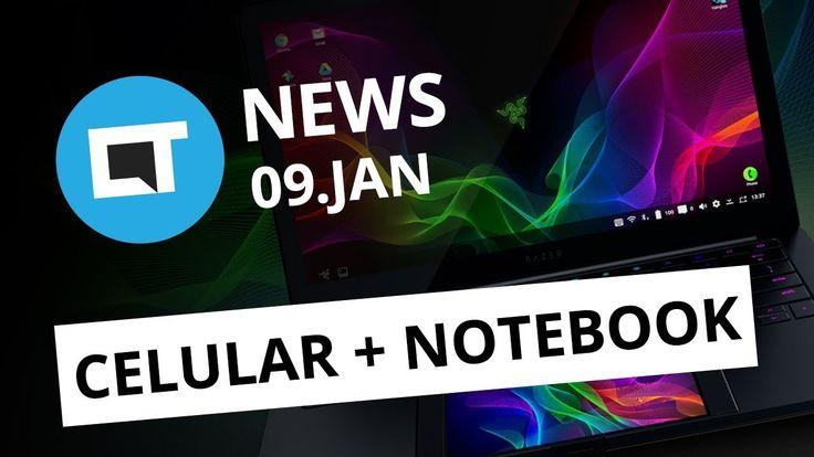 Híbrido de smartphone e laptop da Razer; Samsung na CES 2018; Táxi aéreo...