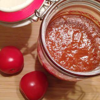 Zelfgemaakte tomatenketchup - Francesca Kookt