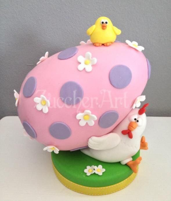 Easter Chicken Cake