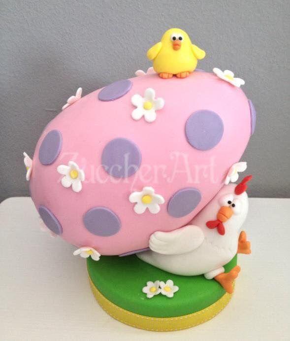 Easter Chicken Cake