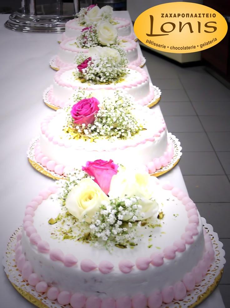 Μοναδικές σε γεύση τούρτες γάμου #wedding cakes