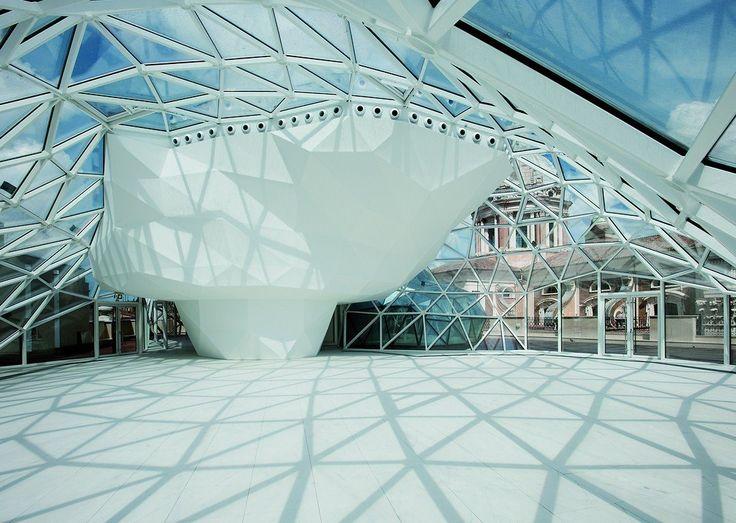 Una cupola di vetro per l'ex Unione Militare a Roma (Massimiliano Fuksas)
