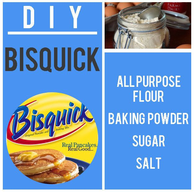 You can also prep ahead by DIY-ing your own Bisquick Pancake Mix. | Anthony Bourdain Made A Cute Pancake Bar For His Daughter's Slumber Party