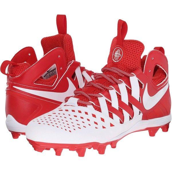 Mens Shoes Nike Huarache V Lax Challenge Red/White/White