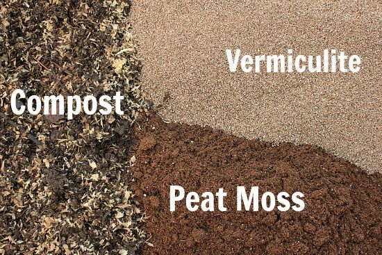 Make your own potting soil--this stuff is pretty expensive at the store and comes in small bags, try making DIY potting soil in bulk for container gardening