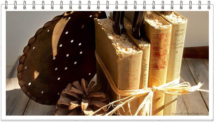 Подставка для ножей из книг МК