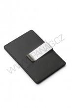 Držák na kreditní karty s clipem na bankovky - 479,-