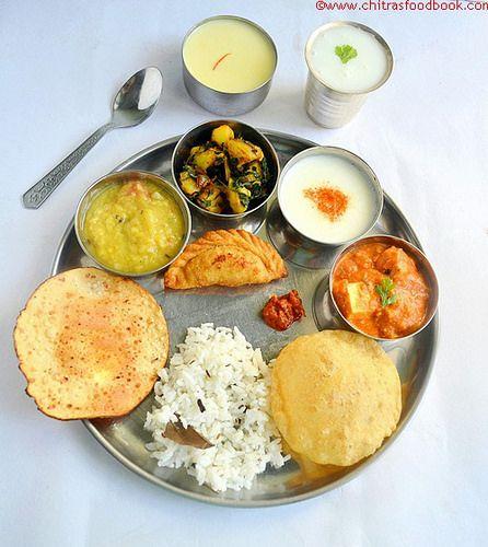 Chitra's Food Book: HOLI LUNCH MENU RECIPES