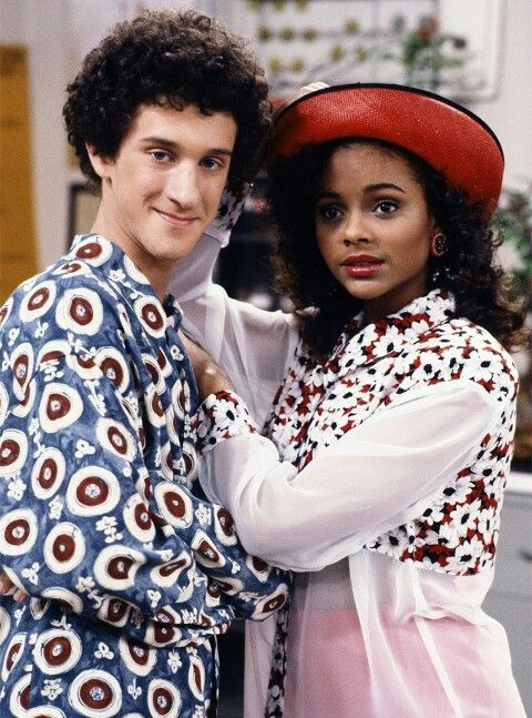 Dustin Diamond & Lark Voorhies as Screech & Lisa Turtle from the 80s hit tv show Saved By the Bell