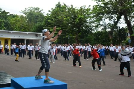 Dharma Wanita Persatuan Bakamla RI Ikut Meriahkan HUT Ke-2/44 Bakamla RI