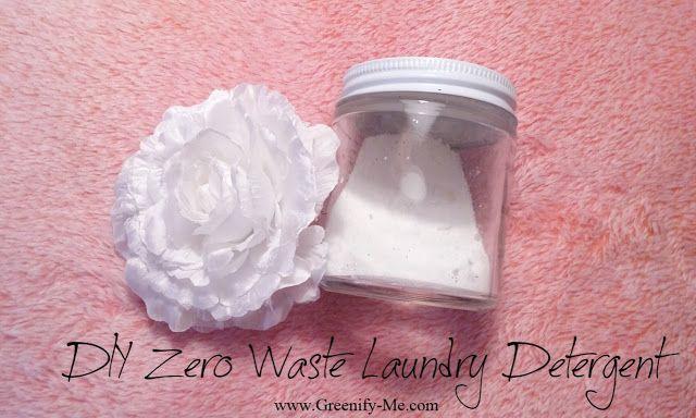 Diy Zero Waste Laundry Detergent Diy Laundry Detergent Diy
