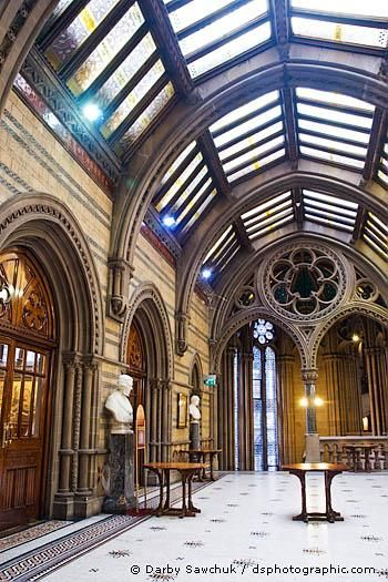Manchester Town Hall Interior