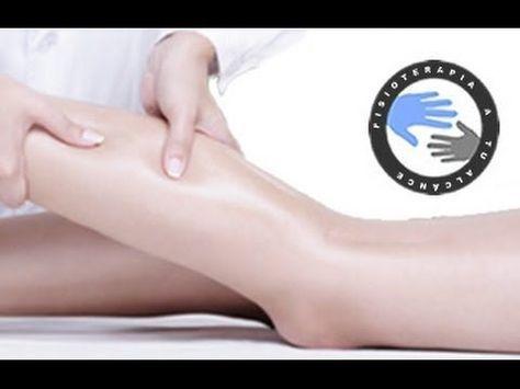 Masaje circulatorio de gemelo, como mejorar las piernas cansadas o pesadez de piernas / Fisioterapia a tu alcance