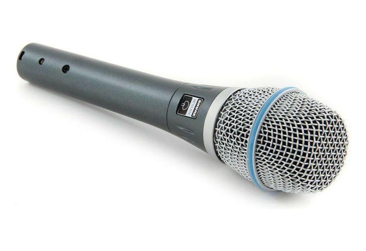 Mikrofon pojemnościowy Beta 87A Shure | Nagłośnienie \ Mikrofony \ Pojemnościowe | Sprzet-Dyskotekowy.pl - największy i najtańszy sklep internetowy z oświetleniem i nagłośnieniem w Polsce