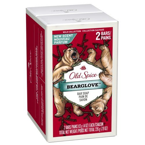 Old Spice Wild Collection Bearglove Men's Bar Soap 2 Count  Price: $3.42  Body Care Tips