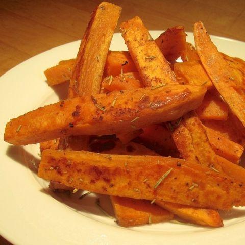Sweet Potato Fries - The Lemon Bowl