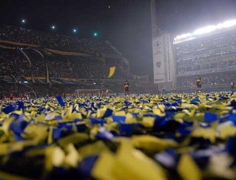 La Bombonera a full Libertadores 2012.