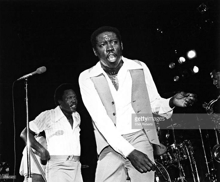 PALLADIUM Photo of SAM & DAVE and Sam MOORE and Dave PRATER, Sam Moore (L) and Dave Prater performing on stage