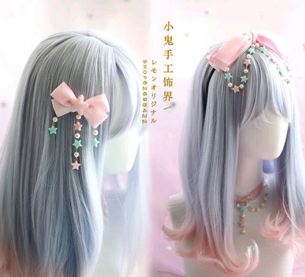 Pin On Harajuku Hair Clips