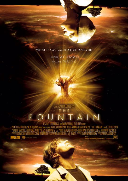The Fountain (2006) Poster design by The Cimarron Group