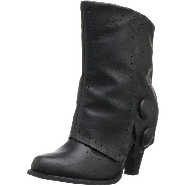 Not Rated Women's Most Wanted Boot ($48) ❤ liked on Polyvore featuring shoes and boots