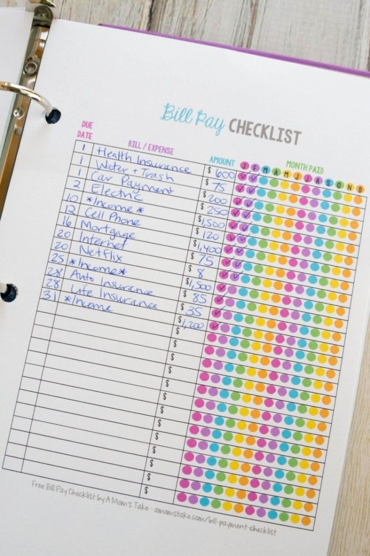 20 Printables that Will Help Organize Everything -