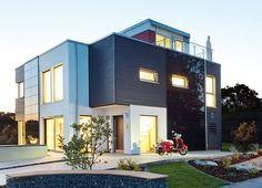schwörer haus - Zusätzlich zu den rund 160 Quadratmetern Wohnfläche auf zwei Etagen ist das Flying-Space-Modul als weitere Etage und Dachaufbau installiert.