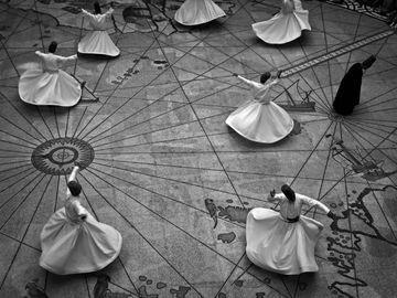 Whirling Dirvish, Ankara, Turkey