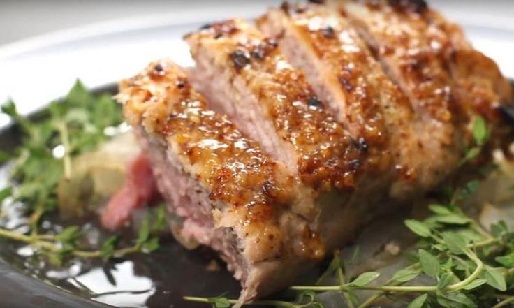Découvrez comment réaliser un filet de porc à la cassonade complètement IRRÉSISTIBLE...