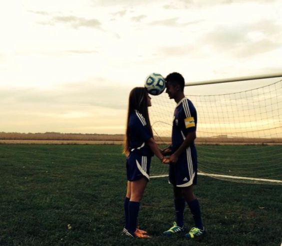 boyfriend and girlfriend soccer goals - Google Search