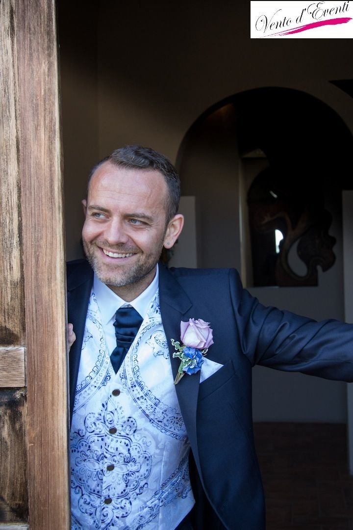 The groom before ceremony!
