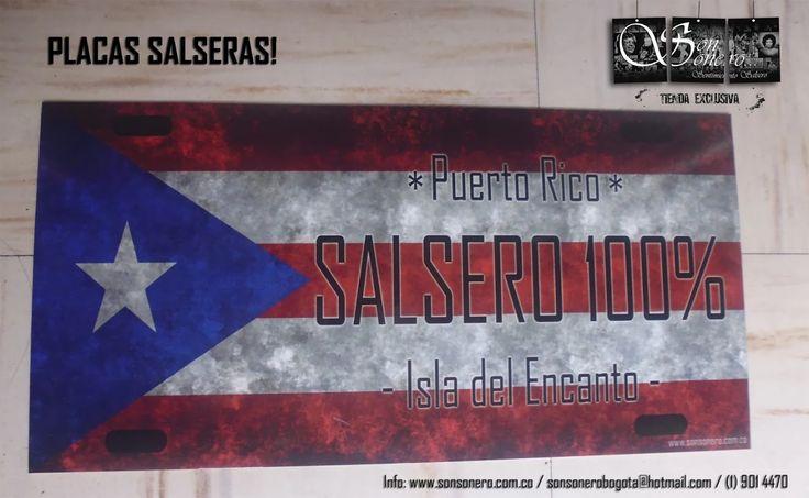 Foto: Placa Salsera - Puerto Rico