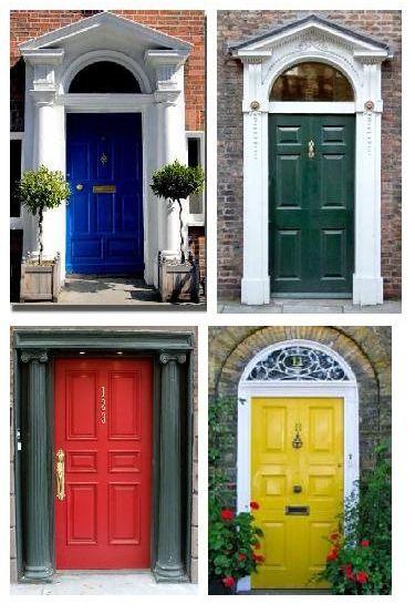 Consejos para elegir el color de la puerta principal - Para Más Información Ingresa en: http://fotosdecasasmodernas.com/consejos-para-elegir-el-color-de-la-puerta-principal/