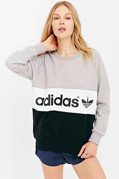 adidas Originals City Sweatshirt - Urban Outfitters if i had this sweatshirt i would never take it off
