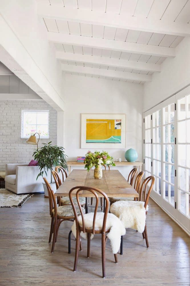 The zen home of a LA fashion designer and boutique owner