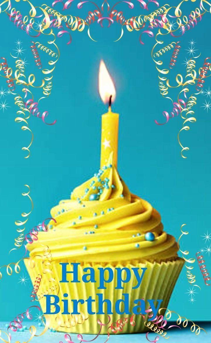 Happy 3rd Birthday Granddaughter Best Of Happy Birthday Greeting Yellow Cupcake Happy Birthday Greetings Happy Birthday Cards Happy Birthday Greetings Friends