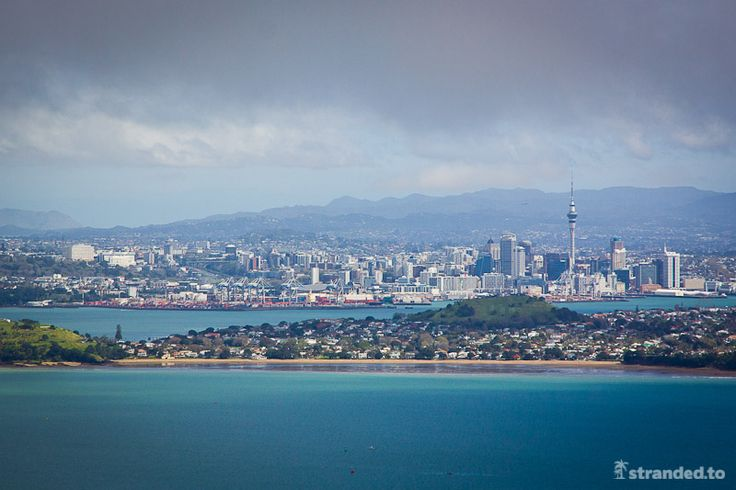 View from Rangitoto Island, Auckland, New Zealand