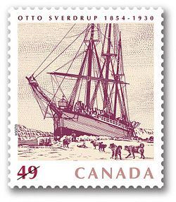 2004 Canada Post - Otto Sverdrup, 1854-1930:   Canada, Norway and Greenland worked together to produce this unique joint issue honouring an explorer whose travels defined much of our northern geography.