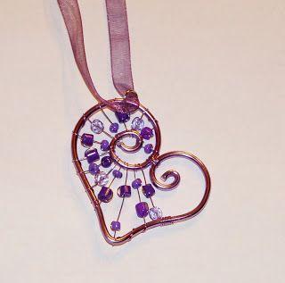 Tvoření pro radost: drátkování - šperky