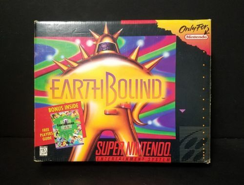 EarthBound (Super Nintendo Entertainment System, 1995) SNES Complete Boxed CIB: $999.99 End Date: Wednesday Mar-28-2018 18:06:27 PDT Buy It…
