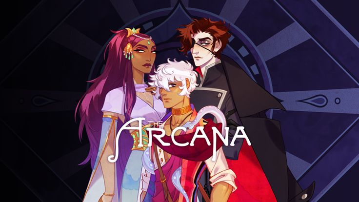 The Arcana is a fantasy/romance visual novel for iOS and Android based on the Tarot.