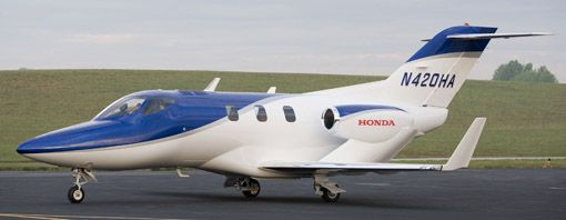 Twenty Years in the Making: Honda Launch First Private Jet. Read more @ http://www.allymon.com