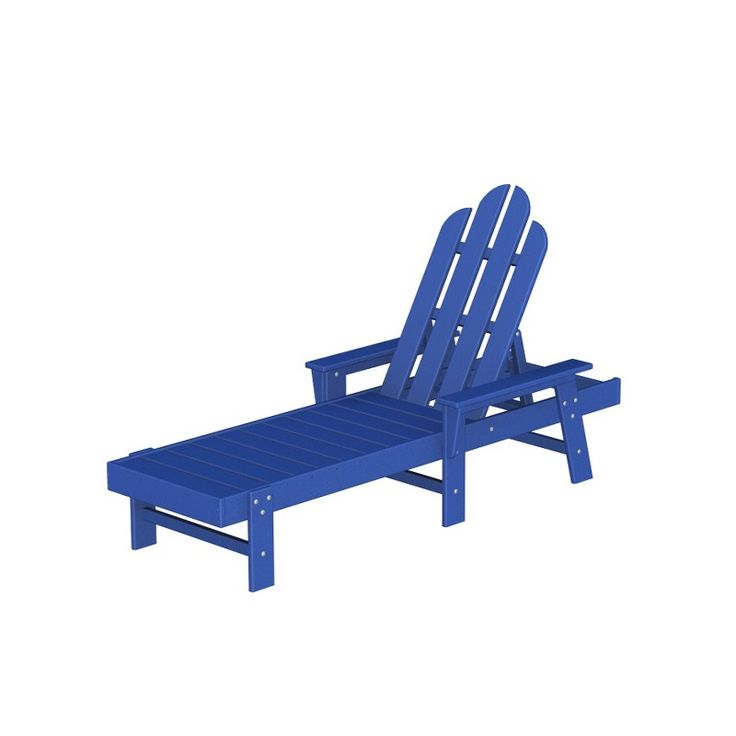 POLYWOOD® Long Island Chaise Collection (491562087), Rustic Outdoor Furniture, Adirondack Chairs & More | bambeco