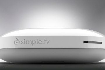 """Simple.TV -- one of Time's Top 10 Tech Gadgets of 2012 -- This """"clever little white DVR, which was successfully crowdfunded by Kickstarter, lets you stream over-the-air HD broadcasts and unencrypted cable TV, in either live or recorded form, to Windows PCs, Macs, iPads and Roku boxes."""""""