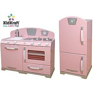 CSN Stores Review: KidKraft Retro Kitchen in Pink